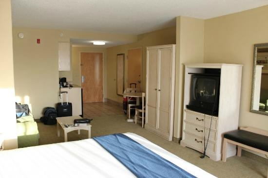 Holiday Inn Express Memphis Southwind: Large Clean Room