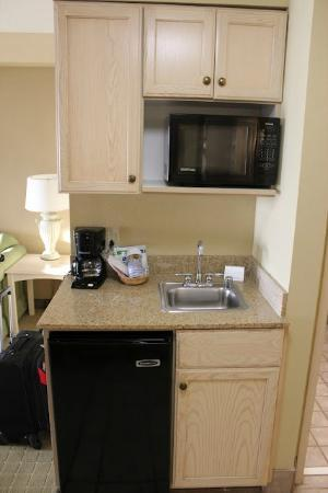 Holiday Inn Express Memphis Southwind: Microwave and Fridge