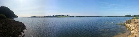 Barnsdale, UK: Location of Lakeside B&B