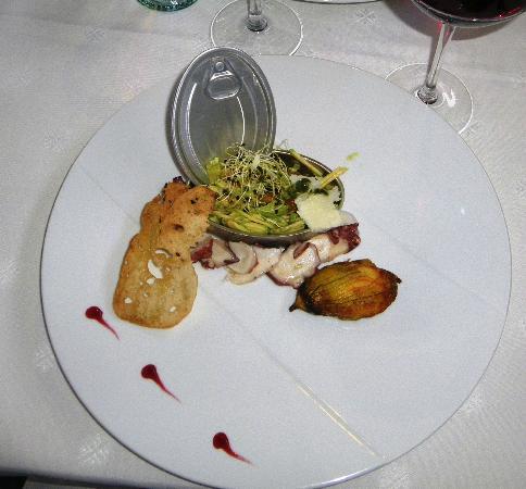 Restaurant Aux Caprices de Caroline : Menu Plaisir: hors-d'oeuvre