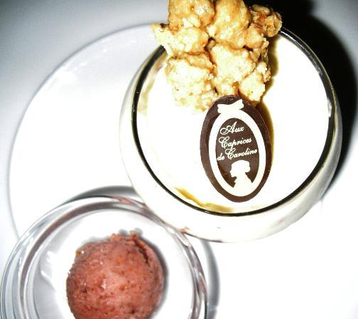 Restaurant Aux Caprices de Caroline : Menu Plaisir: Dessert