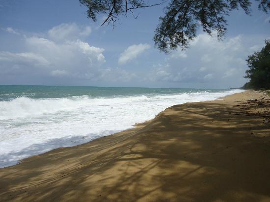 Holiday Inn Phuket Mai Khao Beach Resort: Tranquil beach looking North