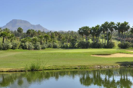 Golf Las Américas: View to the 3rd Green