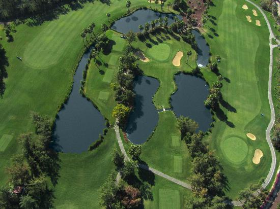 Golf Las Américas: Aerial View of 12th, 13th and 14th Holes