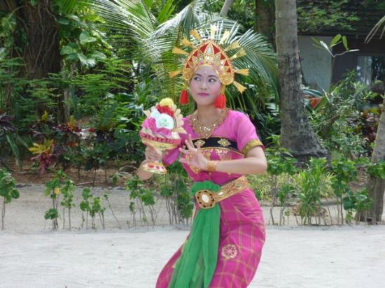 Putri Island Resort Hotel: Schöner Empfang