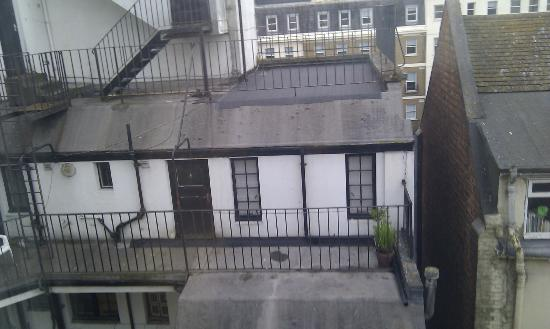 One Broad Street Guesthouse: The view from a room facing away from the street.
