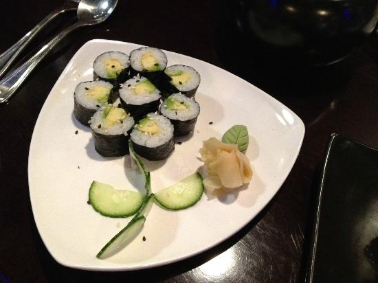 Ohana Sushi & Asian Cuisine : Avacado Sushi at Ohana Restaurant, Ogden, UT