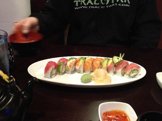 Ohana Sushi & Asian Cuisine : Rainbow Roll at Ohana Restaurant, Ogden, UT