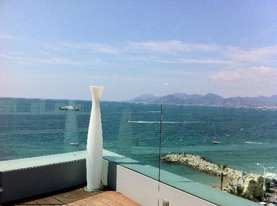 Radisson Blu 1835 Hotel & Thalasso: Vue de la terrasse