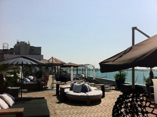 Radisson Blu 1835 Hotel & Thalasso: La terrasse