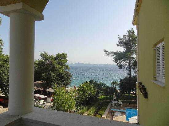 Villa Nela : vue de la chambre