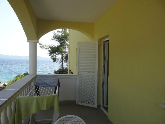 Villa Nela: le balcon