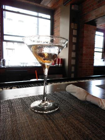 Granary Tavern : my vodka martini.....yum.