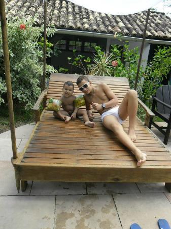 Pousada Agua Marinha: meus filhos se divertiram!