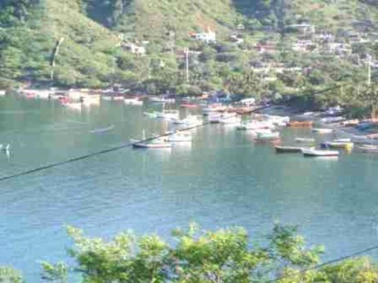 Casa Los Cerros: Vista Taganga las lanchas