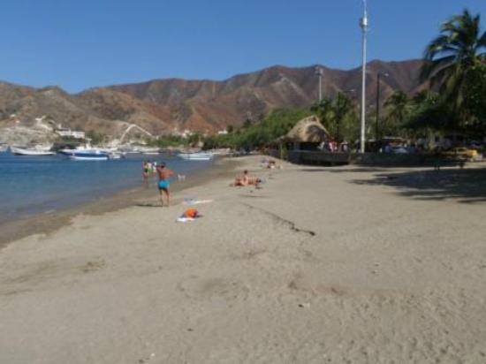Casa Los Cerros: Playa de Taganga
