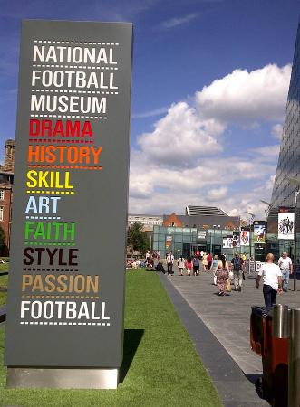 ‪National Football Museum‬
