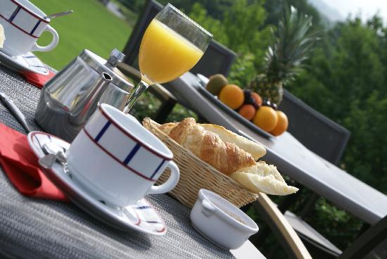 Hotel du Chene : Petit dejeuner