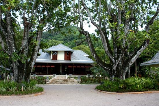 La Plaine St. Andre: La Plaine St Andre - Main Entrance to Historical Manor house