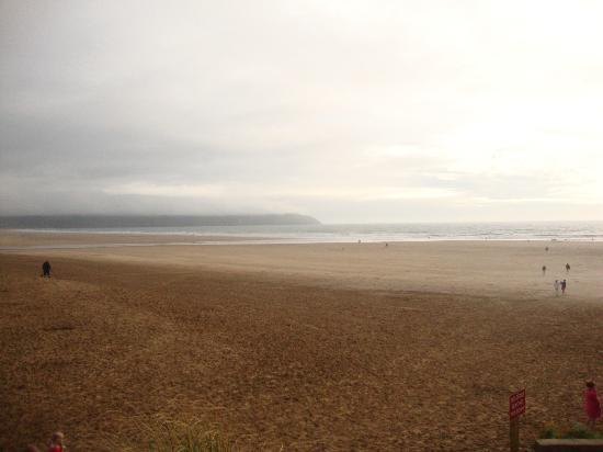 Woolacombe Beach: Woolacombe and a misty day