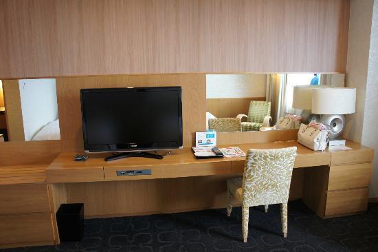 Hotel Nikko Kanazawa: Desk area