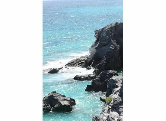 Horseshoe Bay Beach: View from the top of the rocks