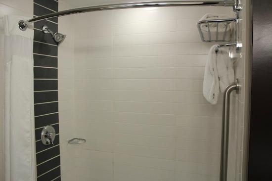 Four Points by Sheraton Las Vegas East Flamingo: Large Modern Shower (no bath)