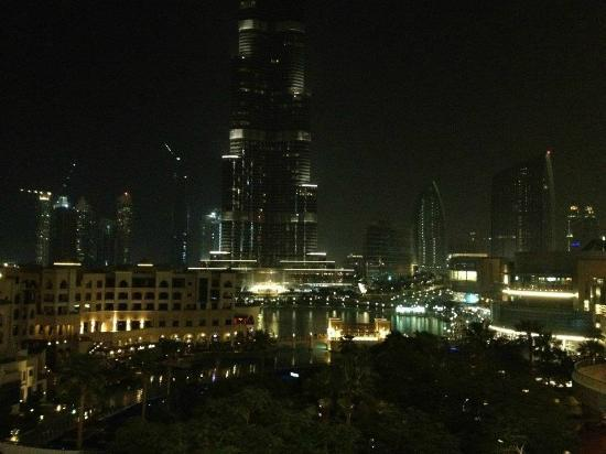 The Address Downtown Dubai: view by night