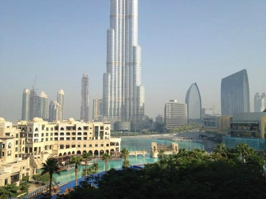 The Address Downtown Dubai: view by day