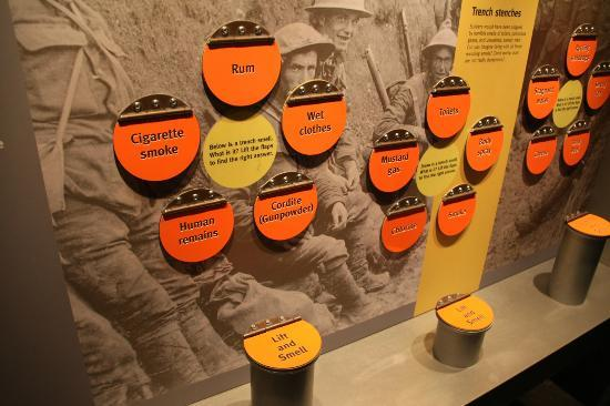 Imperial War Museum North: Identify the smells of the trenches