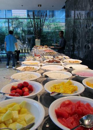 The Mandala Hotel: Déjeuner quotidien