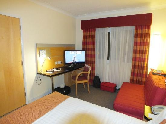 Holiday Inn Express Chester - Racecourse: la camera