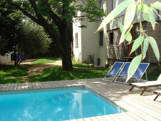 Le parc et la piscine derriere la maison photo de mon jardin en ville montpellier tripadvisor - Terrasse et jardin en ville montpellier ...