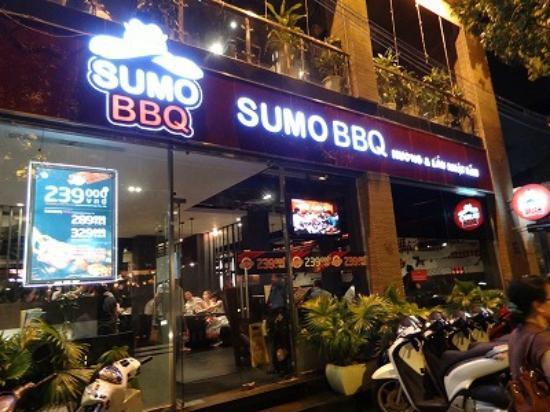 Sumo BBQ: 外観