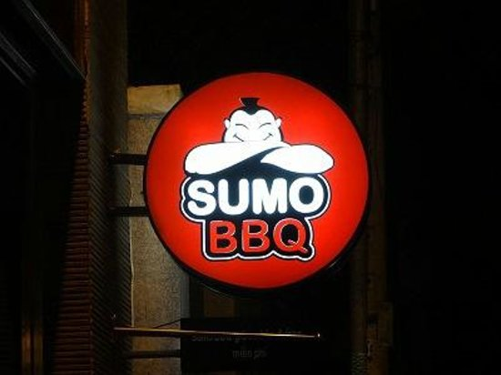 Sumo BBQ: 看板