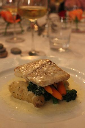Two Dogs Bistro and Wine Bar: My favorite fish - private function at my home