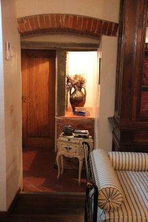 Residenza Il Carmine : détail partie séjour