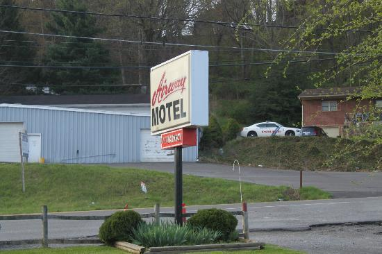 Airway Motel sign