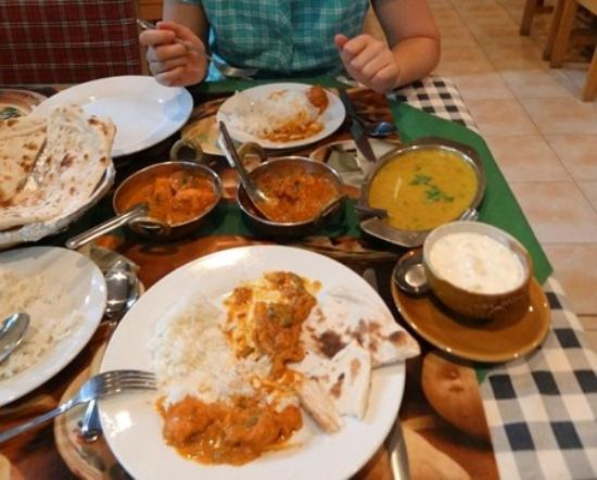 Indian food picture of akbar indian and thai restaurant for Akbars contemporary indian cuisine
