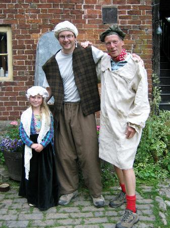 Acton Scott Historic Working Farm: Dressing up!