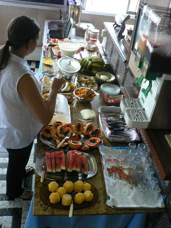 Sombra Palace Hotel: Salão de café