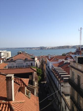 Bairro Alto Hotel: view from my room