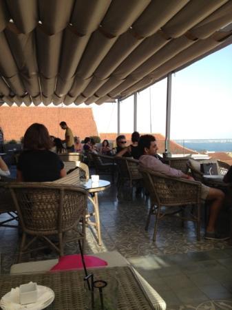 Bairro Alto Hotel: terrace