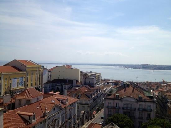 Bairro Alto Hotel: view from terrace