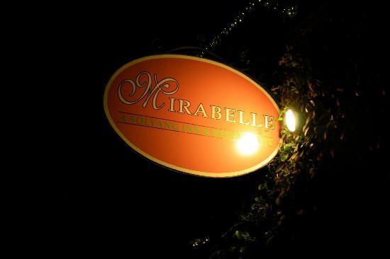 Mirabelle Inn: Sign