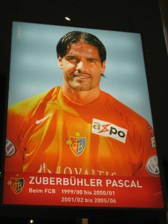 Stadion St Jakobpark: Pascal Zuberbühler