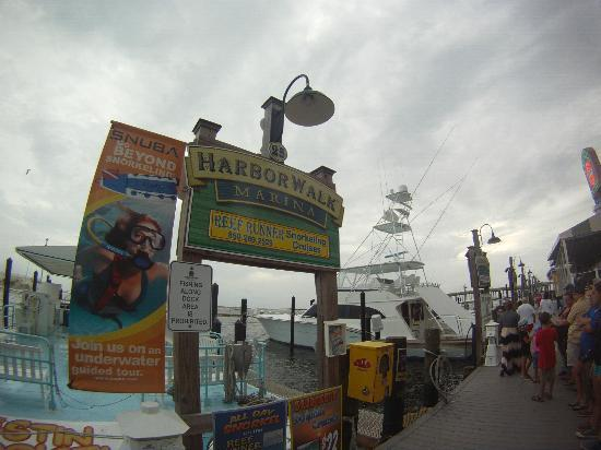 Destin Harbor Boardwalk: We used this company on the boardwalk for sunset cruise and fireworks!