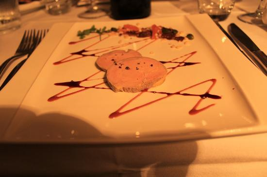 L'Abbaye Hotel: Foie gras
