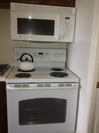 The Bayview: The stove in 313: see how new and clean!