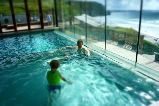 The most beautiful pool picture of watergate bay hotel newquay tripadvisor for Hotels with swimming pools in cornwall